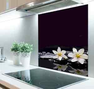 Personalised Photo Digital Glass Splashback  Toughened 100cm x 80cm.