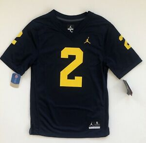 pick up 45b1f e1788 Charles Woodson Michigan Wolverines #2 Jordan Brand Game ...