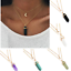Vintage-Crystal-Chain-Choker-Chunky-Bib-Statement-Necklace-Charm-Pendant-Jewelry