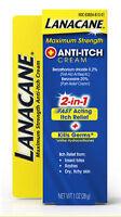 Lanacane Maximum Strength Anti-itch Medication Cream 1oz Each on sale