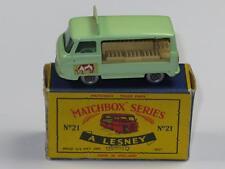 MATCHBOX Regular Wheels 29 Commer Milk Float Grey Plastic Wheels VVNM C Type Box