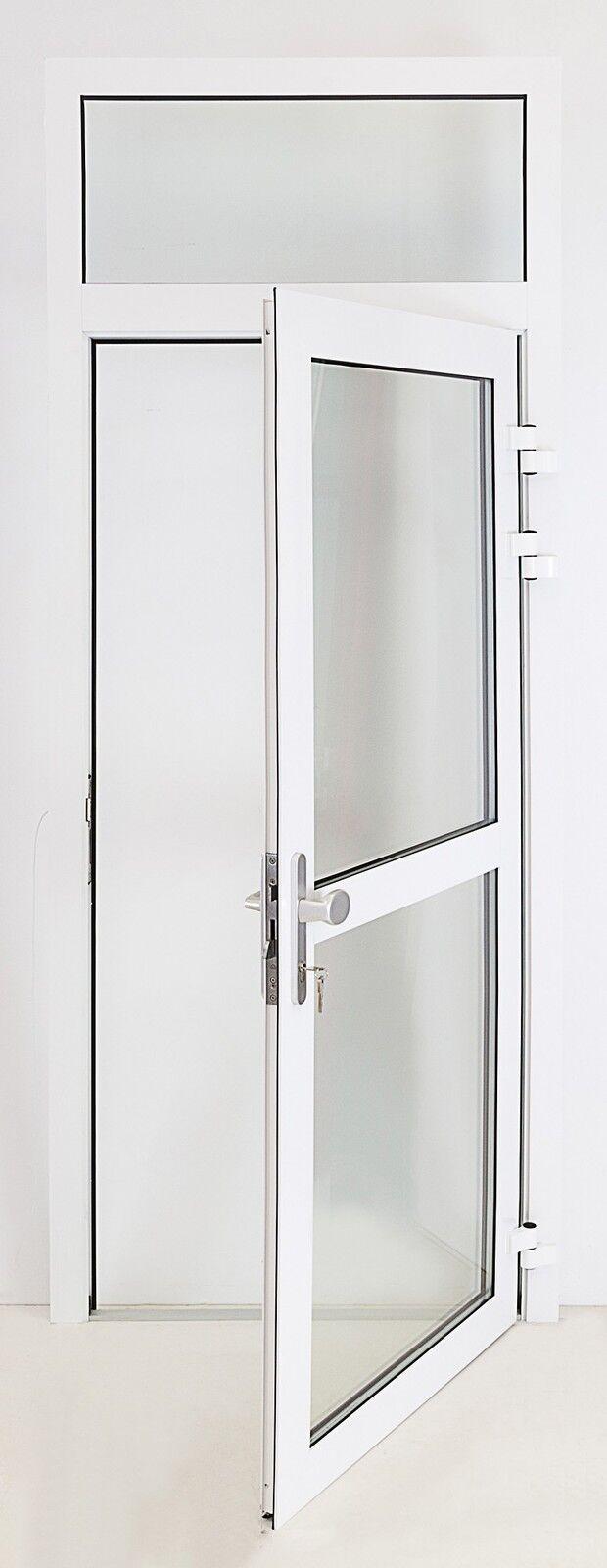 Aluminium Nebentür DIN RE nach außen OL Garagentür Kellertür Nebeneingangstür