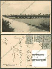 PAVIA PINAROLO PO 01 Cartolina viaggiata 1929