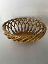 Stoneware Woven Basket