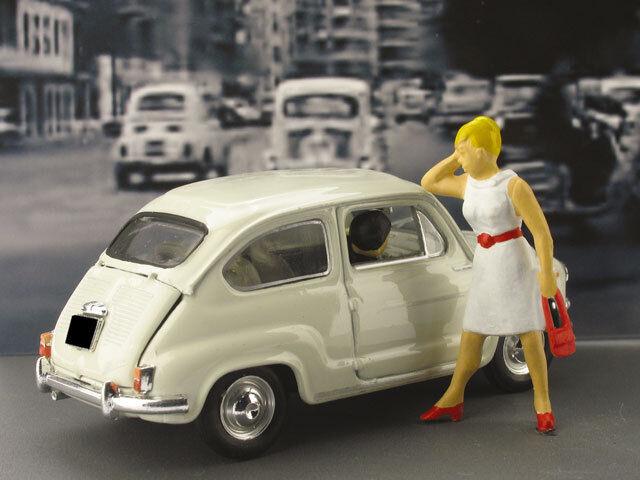 Fiat 600 Vernissage 50° Legge Merlin 1958-2008 1 43 43 43 2010 BRUMM  | Attraktiv Und Langlebig  a438ea