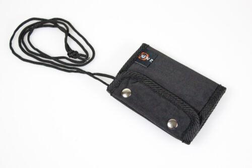 New Rebels Brustbeutel Brusttasche Geldbörse Umhängetasche viele Fächer schwarz