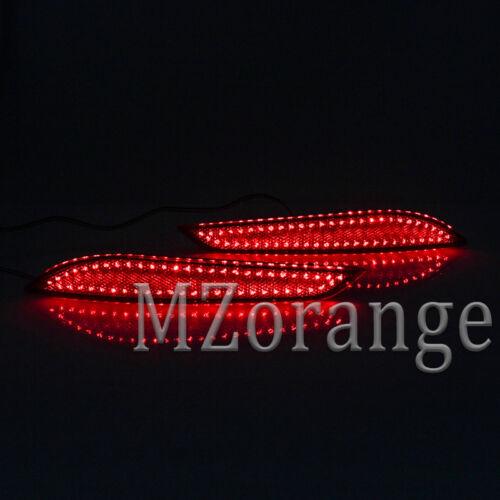 2X For Chevrolet Cruze 2016-2018 LED Rear Bumper Lamp Reflector Tail Brake Light
