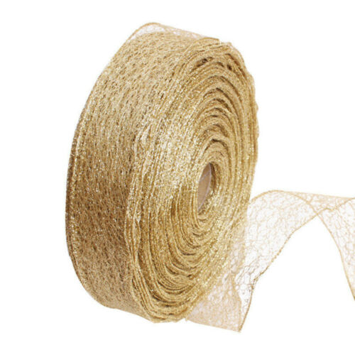2M Rustic Wedding Decor Natural Jute Hessian Burlap Ribbon Tape Lace Trim