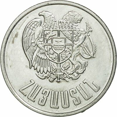Aluminum Km:58 A Great Variety Of Models Ef 1994 #584319 40-45 Coin 10 Dram Armenia Objective