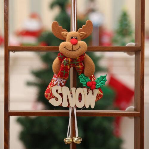 Christmas Tree Hanging Santa Claus Snowman Deer Decor Xmas Home Gift Ornaments ^