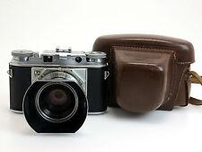 Voigtländer Prominent #B6487 + Ultron 2/50mm #3458081 + lens hood, 333/88  sm186