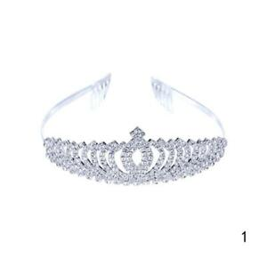 Bridal-Wedding-Crystal-Flower-Hair-Band-Tiara-Crown-Rhinestone-Headband-SALE