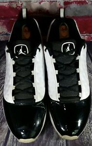 pretty nice a6352 405df Image is loading Nike-Air-Jordan-Cmft-Viz-13-Black-White-