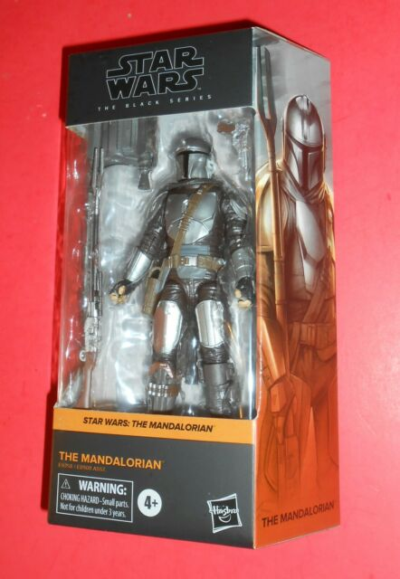 STAR WARS THE MANDALORIAN BESKAR ARMOR 6 INCH BLACK SERIES FREE SHIPPING