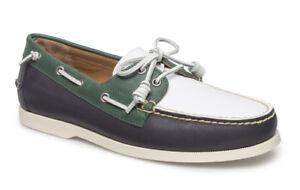0b90b578450f Polo Ralph Lauren Merton Navy White Shoes UK 9  Brand New In ...
