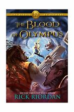 The Heroes of Olympus Book Five The Blood of Olympus Free Shipping