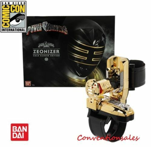 POWER RANGERS legacy GOLD ZEO ZEONIZER Morpher Limited edition SDCC 2018