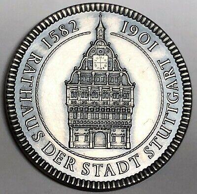 # C8864 Stuttgart, Germany Town Medal, Town Hall