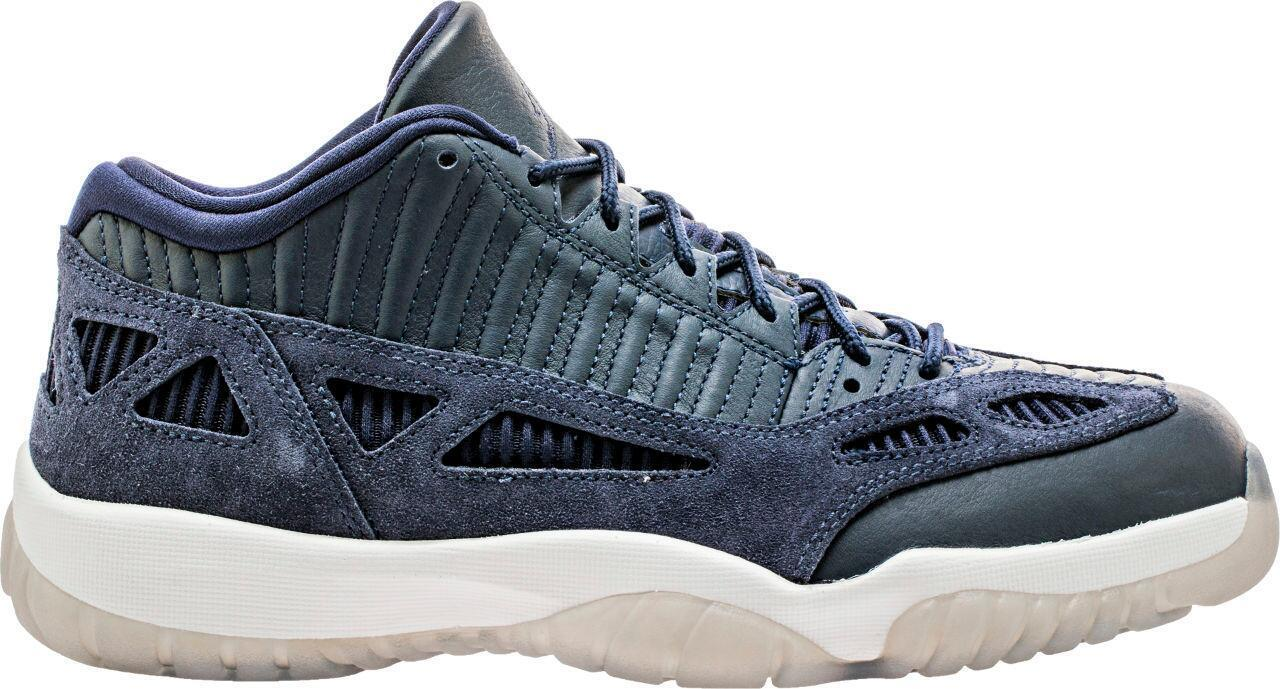 Nike Air Jordan Retro 11 XI Low I.E. Obsidian Midnight Navy bluee 919712 400 IE