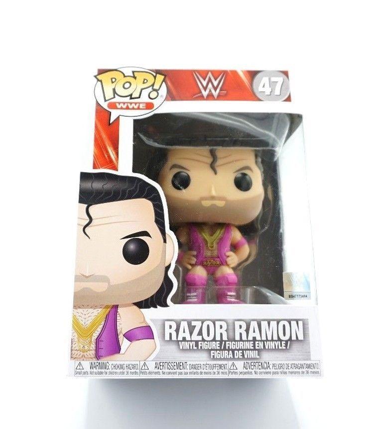 Funko 24825 Pop Vinyl WWE Razor Ramon Figure Exclusive BB481944 W