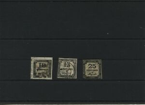 France-Mi-2-3-5-Timbres-Used-Plus-Sh-Mon-Magasin