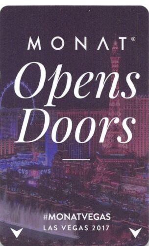 Paris Las Vegas Monat Open Doors 2017 USA-22054 Hotel Key Card