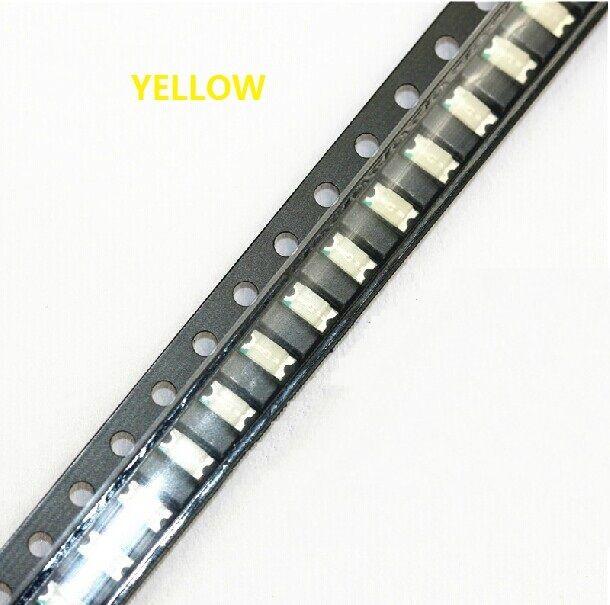 100 pcs SMD SMT 1206 Super bright Yellow LED lamp Bulb GOOD QUALITY