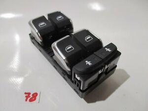 Original-Audi-A4-A5-A6-A7-4G-Q5-Fensterheber-Schalter-vorne-links-4G0959851E
