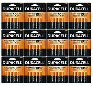 48 Count Duracell AA Coppertop Alkaline Batteries ( 12 x 4 pks)