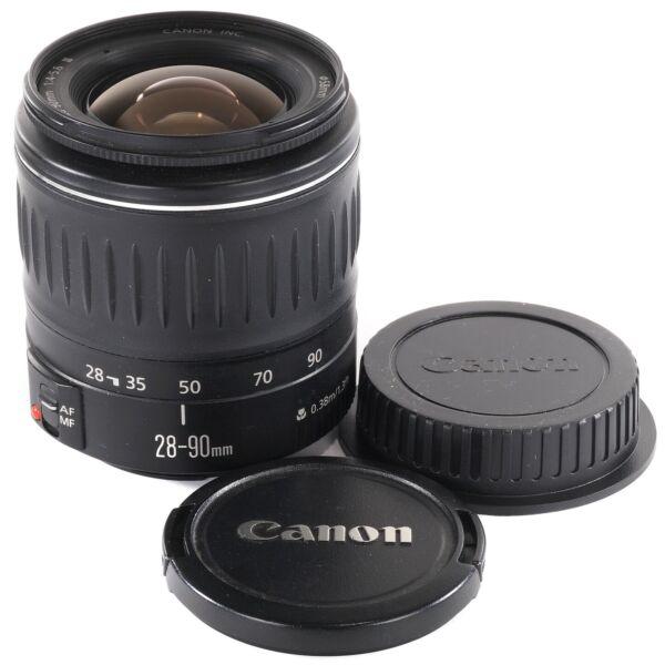 2019 Nouveau Style Canon Ef 28-90 Mm Pour Eos 650d 60d 1300d 550d 70d 6d 5d Ii Iii Iv 7d 700d 70d Etc Dessins Attrayants;
