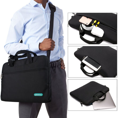 Soft Nylon Waterproof Laptop Computer Case Shoulder Strap Bag For Laptop//Macbook
