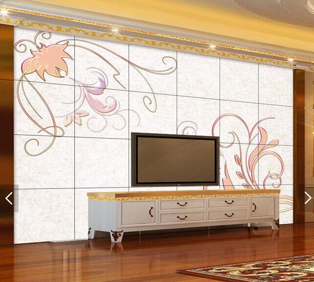3D Blossom 4102 Wallpaper Murals Wall Print Wallpaper Mural AJ WALL UK Carly