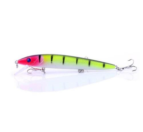 1PCS Big Crankbait Minnow Wobbler Fishing Lure Hard Bait Trolling Peche Bass