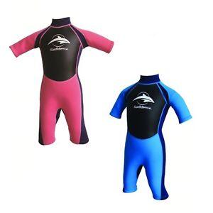75bce3e44e Image is loading Wetsuit-Konfidence-Children-Shortie-Shorty-Neoprene-3-12-