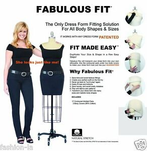 Fabulous Fit Dress Form Fitting System - Small | eBay