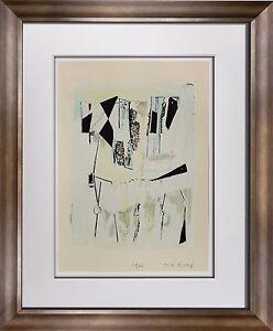 Marino-MARINI-Lithograph-SIGNED-Ltd-EDITION-034-Quadrille-039-62-Custom-FRAME-20x24