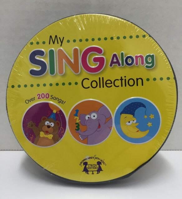 My Sing Along Collection - Over 200 Songs - 15 Cd Set