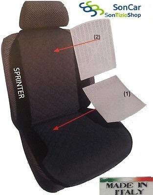 MERCEDES SPRINTER Schienale per Auto Ricamato disponibile più colori no original