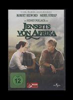 DVD JENSEITS VON AFRIKA - MERYL STREEP + ROBERT REDFORD *** NEU ***