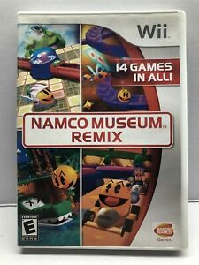 Namco Museum Remix - Nintendo Wii - Complete w/ Manual - Clean & Tested Working