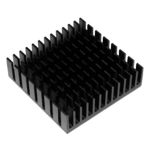 LED Kühlkörper 40 x 40 mm HighPower LEDs Alu Aluminum Heatsink High Power