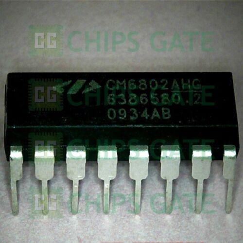 3PCS CM6802B CM6802BH CMG802BHG CM6802BH6 CM68O2BHG CM68028HG CM6802BHG SOP16