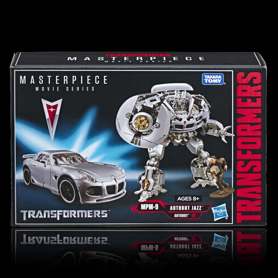 Película Transformers Hasbro obra maestra MPM-09 Jazz sin usar y en caja sellada