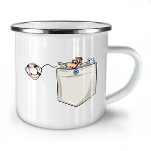 Save Life NEW Enamel Tea Mug 10 oz | Wellcoda