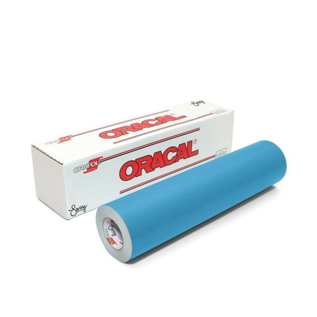 Translucently blue dyed Stencil Film 12 Inch x 10 Foot Roll//Oracal ORAMASK 813