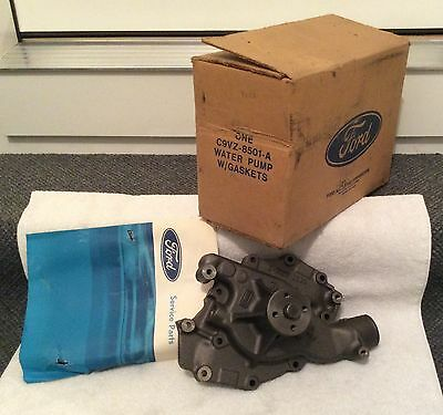 NOS Ford C9VZ-8501-A Boss 429 429 SCJ factory water pump, new in the Ford box!