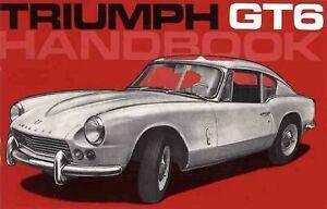 Triumph-Gt6-Owner-Handbook-Paperback-by-Brooklands-Books-Ltd-Brand-New-Fr