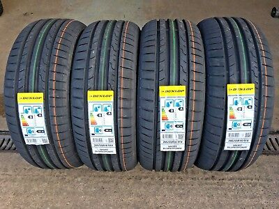 205 55 16 dunlop new tyres 205 55r16 91v amazing b a rated wet grip very cheap ebay. Black Bedroom Furniture Sets. Home Design Ideas
