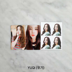 G-I-DLE-1st-mini-album-039-I-AM-039-Official-Photocard-Member-SET-YUQI