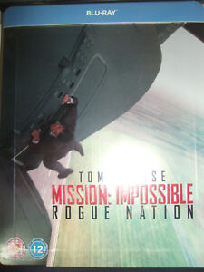 Mission-Impossible-Rogue-Nation-Embossed-SteelBook-Region-Free-UK-New-Sealed